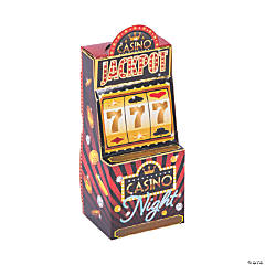 Casino Night Slot Machine Favor Boxes