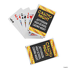 Casino Playing Cards with Personalized Box