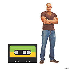 Cassette Tape Cardboard Stand-Up