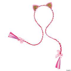 Cat Ear Headbands with Braids
