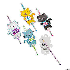 Cat Pencils with Card