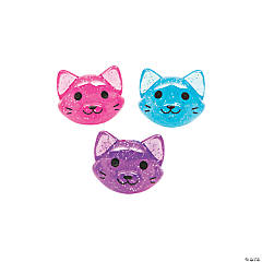 Cat-Shaped Bouncy Balls