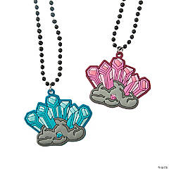Cave Crystal Religious Necklaces