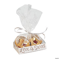 Cellophane Bags with Love Is Sweet Base Insert