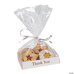 Cellophane Bags with Thank You Base Insert