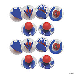 Center Enterprises® Ready2Learn™ Giant Stampers, Paw Prints, 12 count