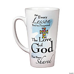 Ceramic Sunday School Teacher's Mug
