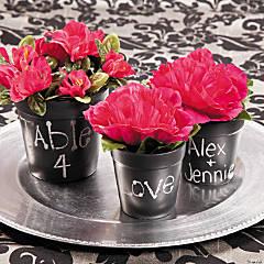 Chalkboard Planters Idea