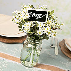 Chalkboard Stake Table Number Idea