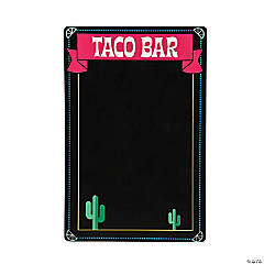 Chalkboard Taco Bar Sign