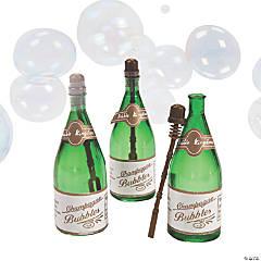 Champagne Bubble Bottles - 12 Pc.