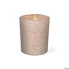 Champagne Glitter Votive Holders