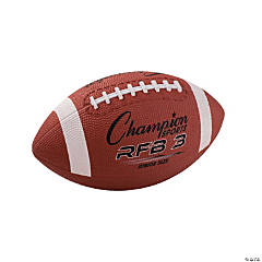 Champion Sports Junior Sized Football, Pack of 2