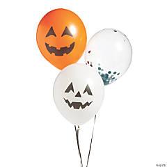 Character Halloween Latex Balloons