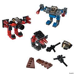 Character Vehicle Building Block Kits