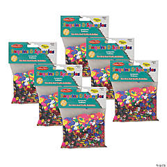 Charles Leonard® Glittering Sequins with Spangles, 4 oz Pack, 6 Packs