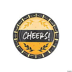 Cheers & Beers Dessert Plates