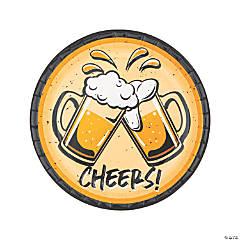 Cheers & Beers Paper Dinner Plates - 8 Ct.