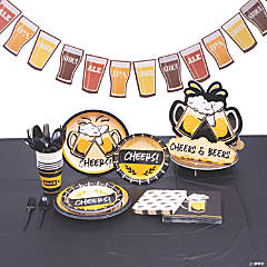 Cheers & Beers Tableware Kit for 8