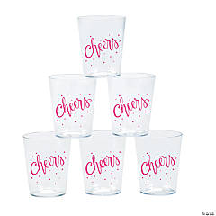 Cheers Shot Glasses