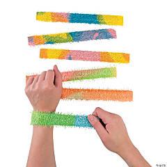 Chenille Slap Bracelets