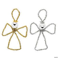 Chenille Stem Angel Ornament Craft Kit