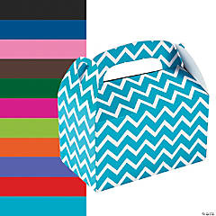 Chevron Favor Boxes
