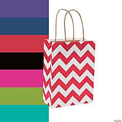 Chevron Gift Bags