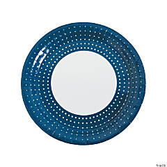Chic Dots Paper Dinner Plates