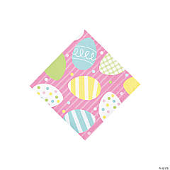 Chick & Bunny Easter Beverage Napkins
