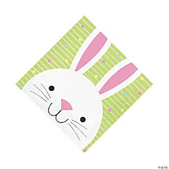 Chick & Bunny Easter Luncheon Napkins
