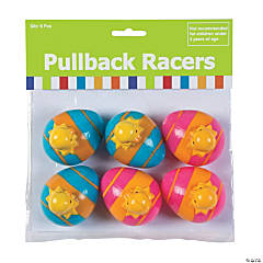 Chick in Easter Egg Pull-Back Toys