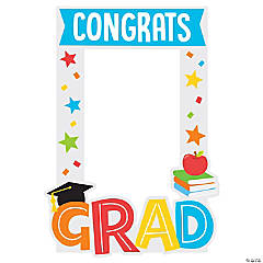 Child's Congrats Grad Photo Frame Prop