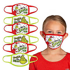 Child's Dr. Seuss™ The Grinch Washable Face Masks – 6 Pc.