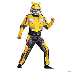 Child's Muscle Transformers Bumblebee Costume - Small
