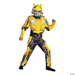 Child's Muscle Transformers Bumblebee Costume