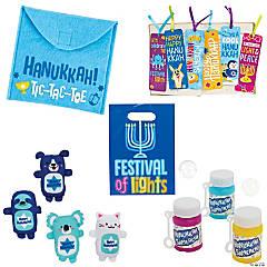 Children's Hanukkah Cheer Bag Kit for 48