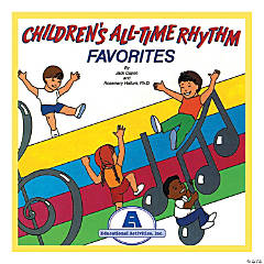 Children's All-Time Rhythm Favorites CD
