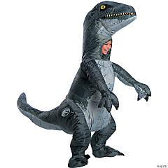 Children's Velociraptor Inflatable Costume