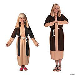 Child's Deluxe Brown & Beige Shepherd Costume