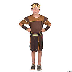Child's Polyester Roman Soldier Costume - Medium
