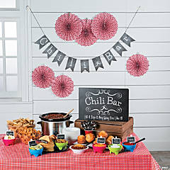 Chili Bar Supplies