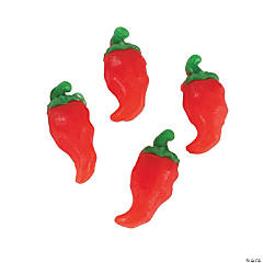 Chili Pepper-Shaped Gummy Candy