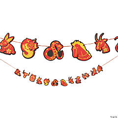 Chinese New Year Animals Garland