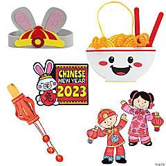Chinese New Year Celebration Craft Assortment