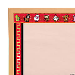 Chinese New Year Double-Sided Bulletin Board Borders