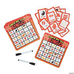 Chinese New Year Dry Erase Bingo