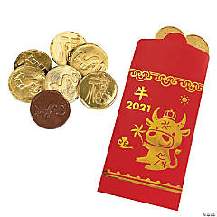 Chinese New Year Money Treat Bag Kit for 24