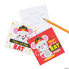 Chinese New Year of the Rat Notepads