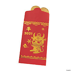 Chinese New Year Ox Money Treat Bags